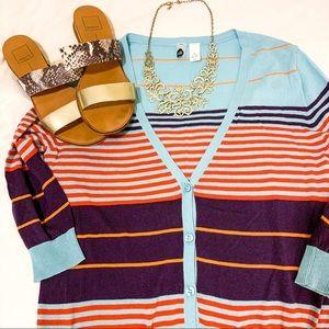 BP Colorful Cardigan
